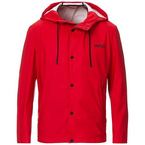 HUGO Belnus Rain Jacket Red