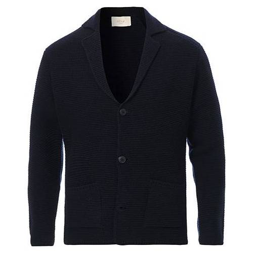 altea Knitted Cardigan Blazer Navy