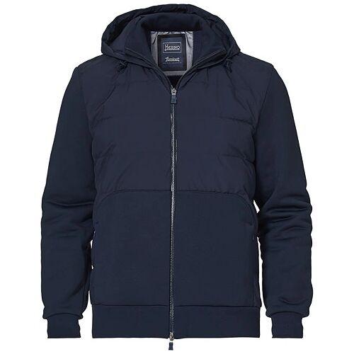 Herno Laminar Hybrid Jacket Dark Blue