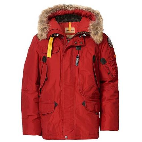Parajumpers Right Hand Masterpiece Parka Red