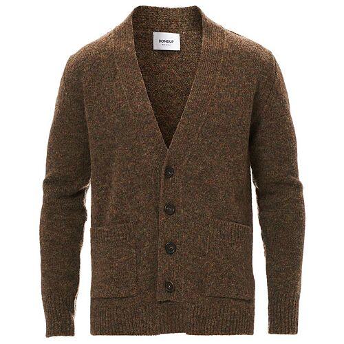 Dondup Wool Cardigan Brown