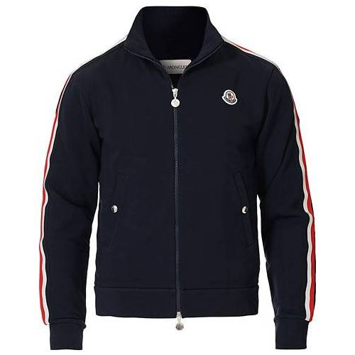 Moncler Full Zip Sweater Navy
