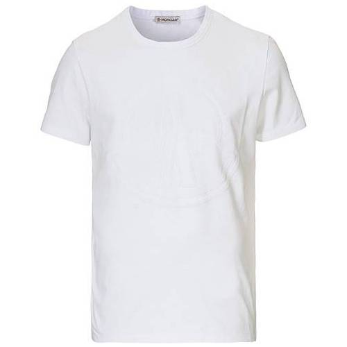 Moncler M Logo T-shirt White