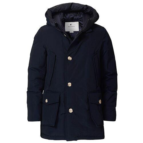 Woolrich Artic Parka No Fur Melton Blue