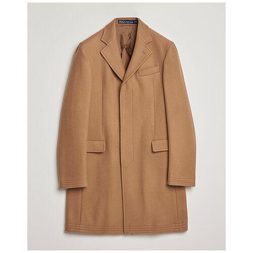 Polo Ralph Lauren PS Paddock Wool Melton Coat Camel