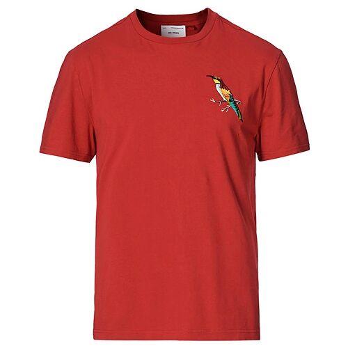 Axel Arigato Ornithologist Crew Neck Tee Red