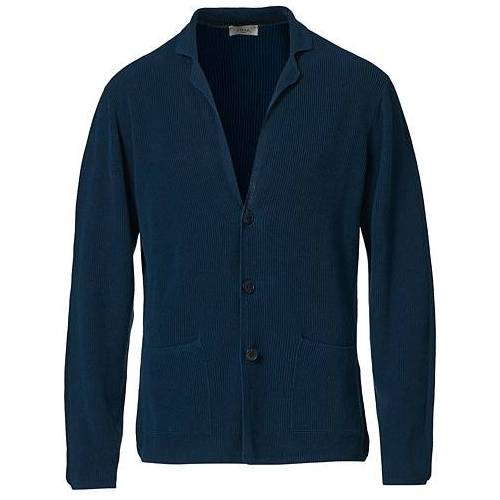 Altea Knitted Cardigan Blazer Dark Blue