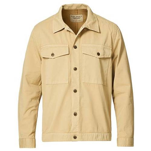 Nudie Jeans Colin Utility Overshirt Oat