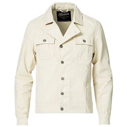 Morris Rochefort Twill Jacket Off White