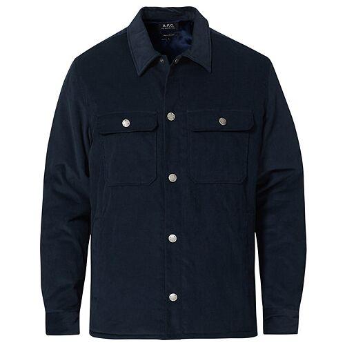 A.P.C. Alex Shirt Jacket Navy