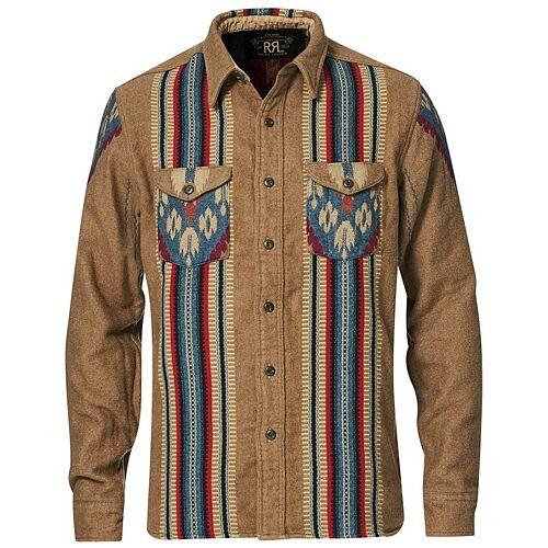 RRL Chimayo Sweet Orr Workshirt Brown