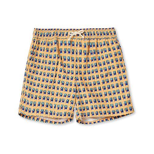 Ripa Ripa Finestre Sul Mare Printed Swimshorts Yellow