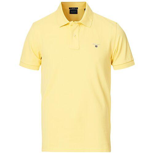 GANT The Original Polo Brimstone Yellow