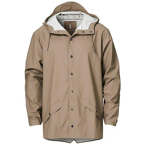 RAINS Jacket Taupe