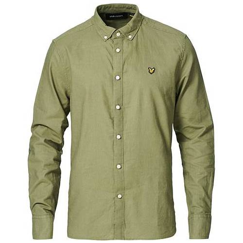 Scott Lyle & Scott Linen/Cotton Shirt Moss