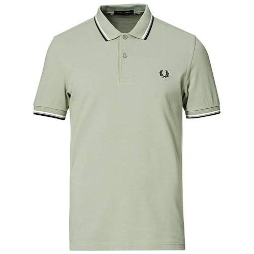 Fred Perry Twin Tip Polo Seagrass