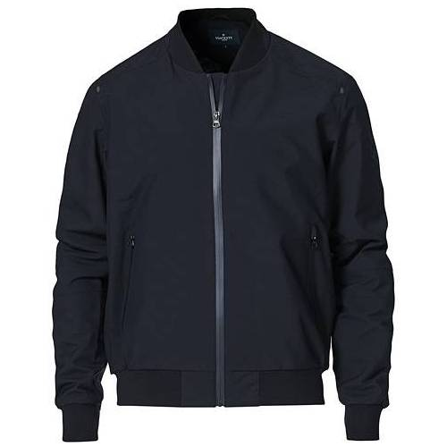 Hackett Tech Bomber Jacket Navy