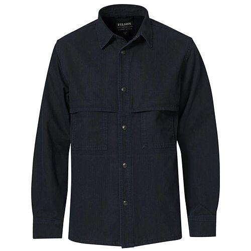 Filson Herringbone Shirt Jacket Night Sky