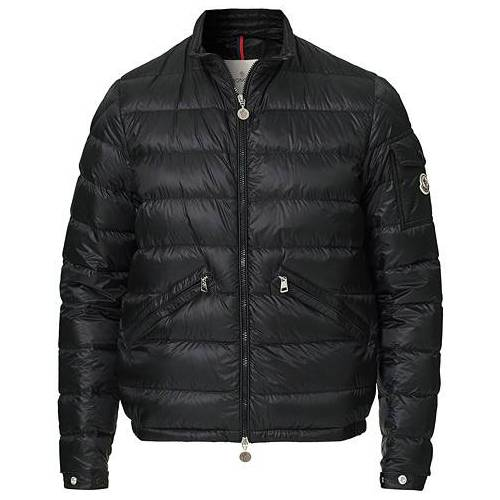 Moncler Agay Down Jacket Black