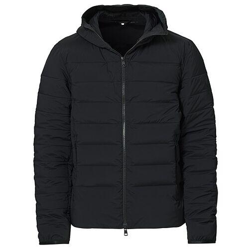 Moncler Eze Down Hooded Jacket Black