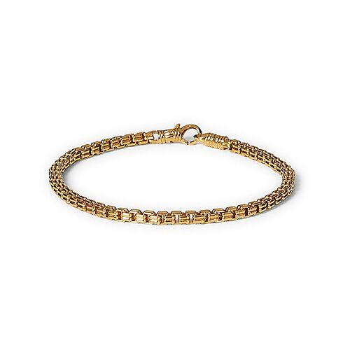 Tom Wood Venetian Bracelet Double M Bracelet Gold