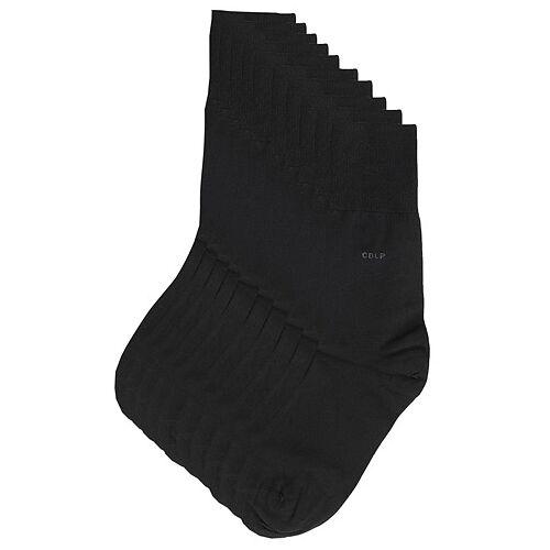 CDLP 10-Pack Bamboo Socks Black