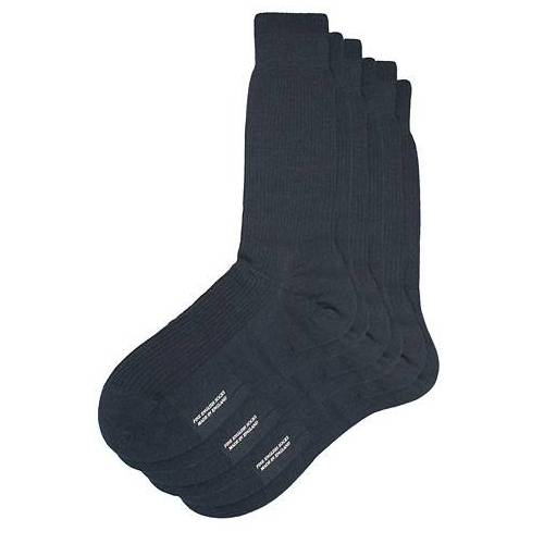 Pantherella 3-Pack Naish Merino/Nylon Sock Navy