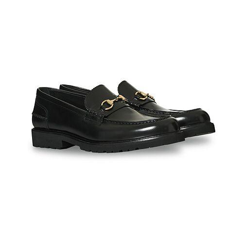 VINNY's Le Club Horsebit Loafer Black Polido
