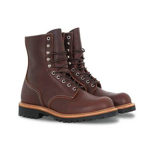 Red Wing Shoes Logger Boot Briar Oil Slick Leather