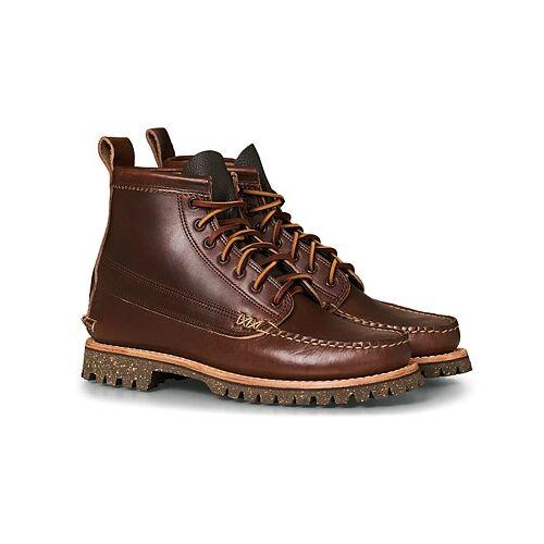 Yuketen Cortina Sole Angler Boots Dark Brown Calf