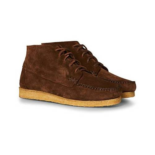 Yuketen Crepe Sole Sports Boots Snuff Suede