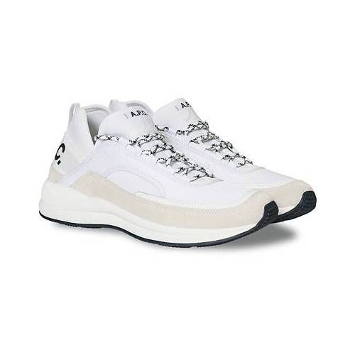 A.P.C. Running Sneakers White