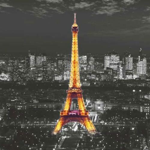 AG Design Fototapete Eiffel In The Night