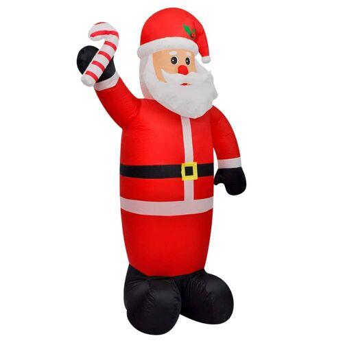 vidaXL Weihnachtsmann aufblasbar 120 cm
