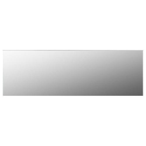 vidaXL Rahmenloser Spiegel 120x30 cm Glas