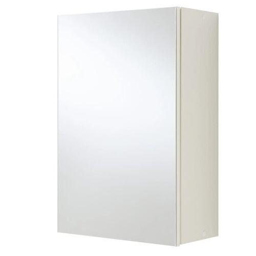 FMD Badezimmer-Spiegelschrank Weiß