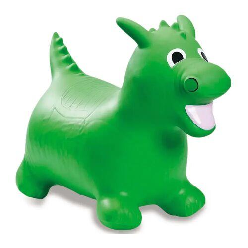 Jamara Hüpftier Drache mit Pumpe Grün