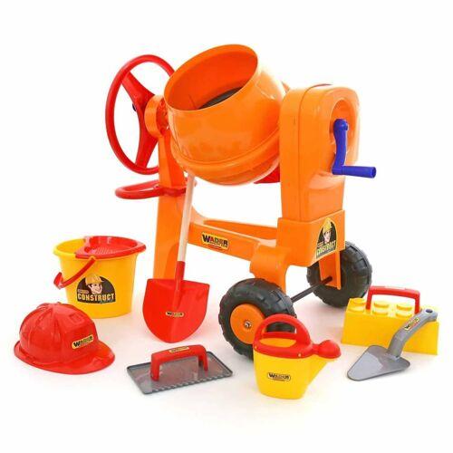 Polesie Spielzeug-Betonmischer Orange 1450690