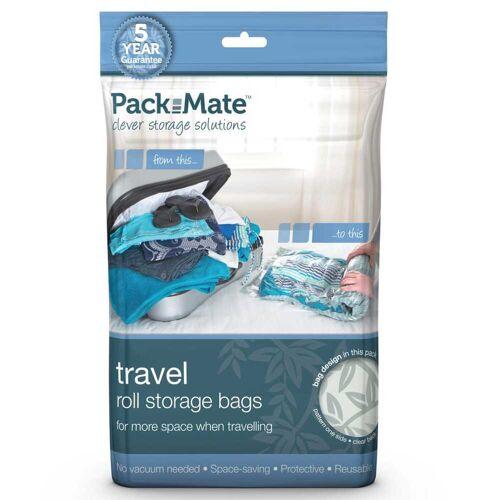 Packmate 4-tlg. Vakuum-Aufbewahrungsbeutel-Set Blau PAC002