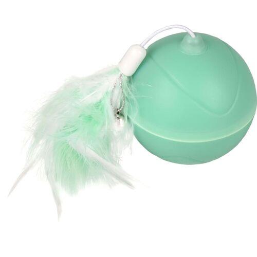 FLAMINGO 2-in-1 LED-Ballspielzeug Magic Mechta Grün 7 cm