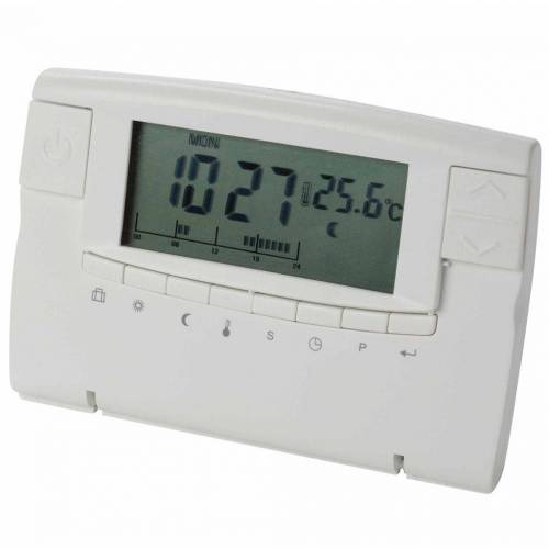 Perel Digitales Thermostat Weiß CTH406