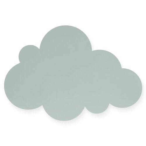 Jollein Kinder-Wandleuchte Wolken Grün