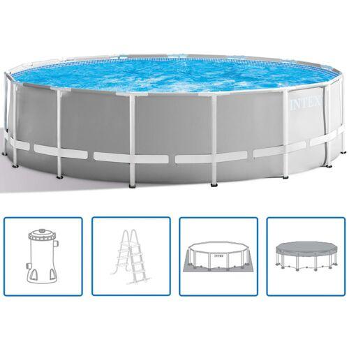 Intex Prism Frame Swimmingpool-Set Rund 457 x 122 cm 26726GN