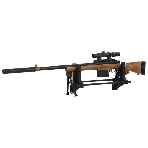 vidaXL Gewehrauflage 40×17,5×19 cm Kunststoff