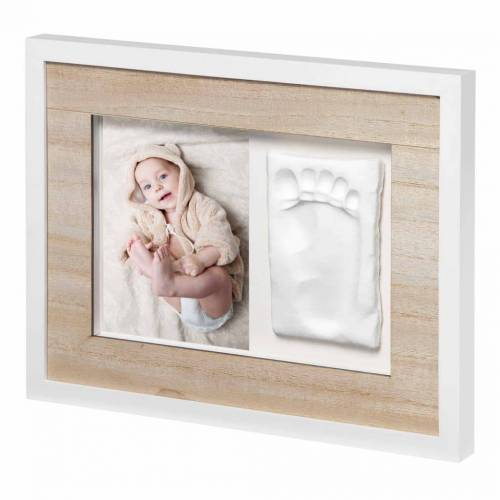 ART Baby Art Fuß-/Handabdruck-Rahmen Tiny Style Beige