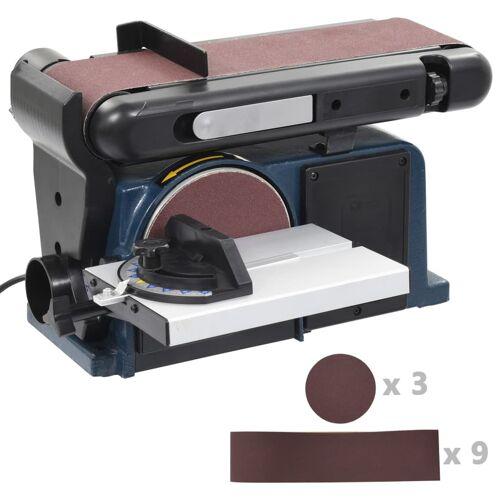 vidaXL Elektrischer Band- und Tellerschleifer 370 W 150 mm
