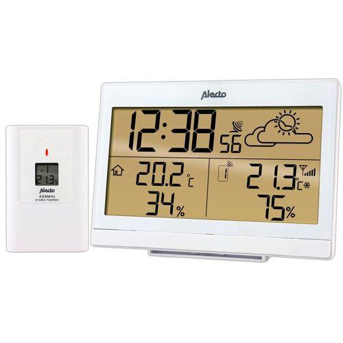 Alecto Drahtlose Wetterstation WS-2300WT Weiß