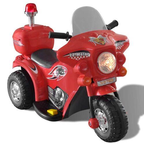 vidaXL Kinder-Elektromotorrad Rot