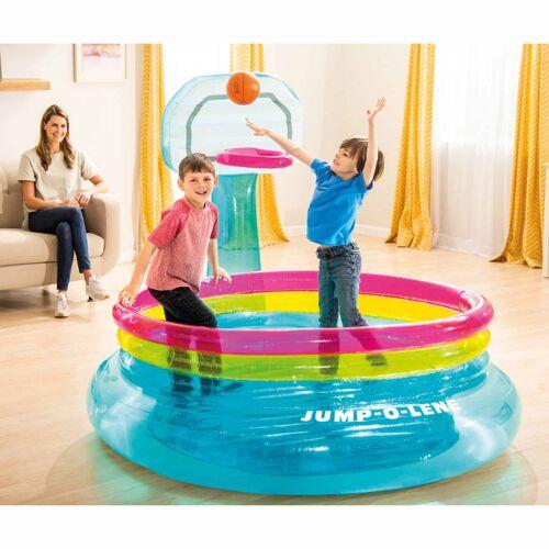 Intex Aufblasbare Hüpfburg Jump-O-Lene Basketball PVC