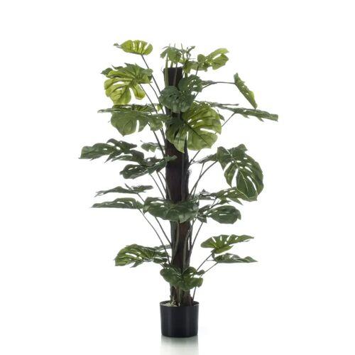Emerald Kunstpflanze Monstera an Stangen 120 cm